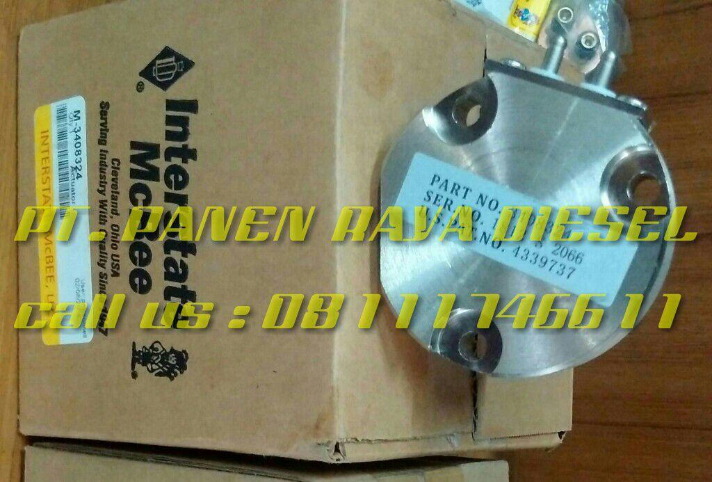 Jual Actuator 3408324 Cummins - PANEN RAYA DIESEL